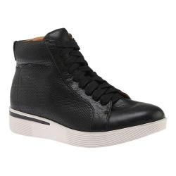 Women's Gentle Souls Helka High Top Sneaker Black Leather