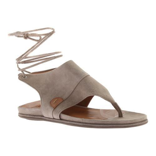 3bbfd67bb Shop Women s Gentle Souls Olson Thong Sandal Dark Mushroom Leather - Free  Shipping Today - Overstock - 18910733