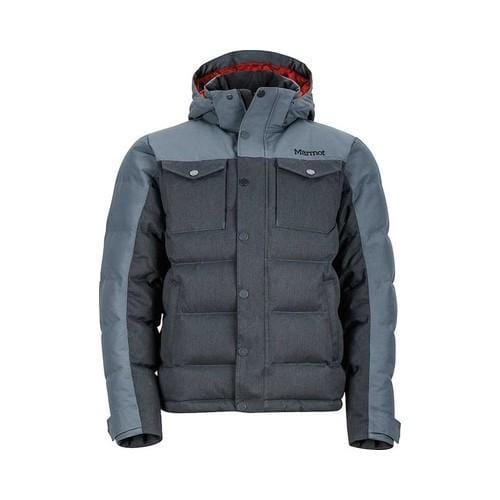 Shop Men s Marmot Fordham Down Jacket Steel Onyx - Free Shipping Today -  Overstock - 18910877 d80963846