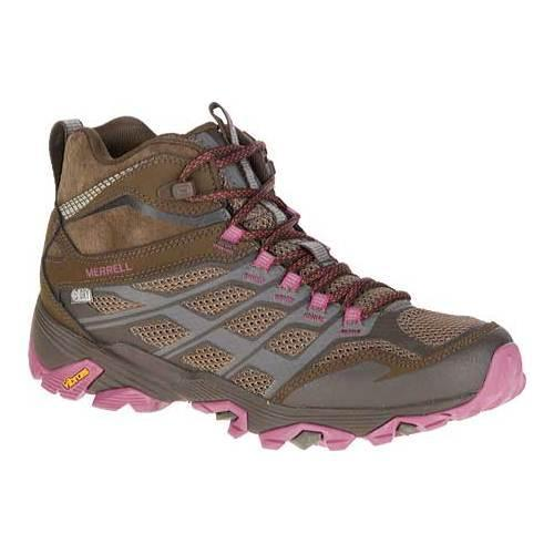 7292efc2d0 Shop Women's Merrell Moab FST Mid Waterproof Hiking Boot Boulder - Free  Shipping Today - Overstock - 18910935
