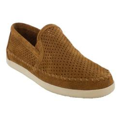 Women's Minnetonka Pacific Perforated Slip On Brown Suede