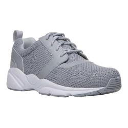 Men's Propet Stability X Walking Sneaker Light Grey Mesh
