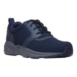 Men's Propet Stability X Walking Sneaker Navy Mesh