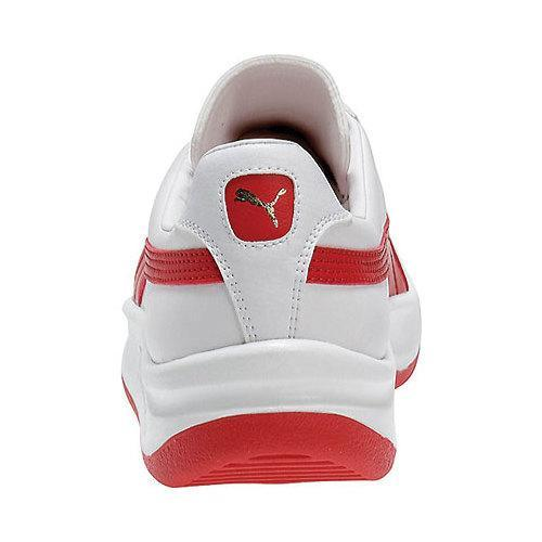 98a0bc319b39 Shop Men s PUMA GV Special White Puma Red - Free Shipping On Orders ...