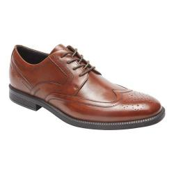 Men's Rockport Dressports Modern Wing Tip Oxford New Brown Leather