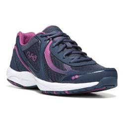 Women's Ryka Dash 3 Walking Shoe Insignia Blue/Vivid Berry