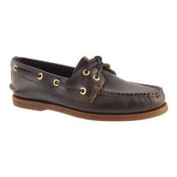 Sperry Men's Authentic Original 2-Eye Boat Shoe Size 10 Amaretto