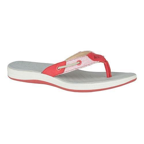 9e106baea42617 Shop Women s Sperry Top-Sider Seabrook Surf Thong Wild Rose Mesh - Free  Shipping Today - Overstock.com - 18911612