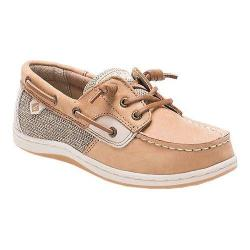 Girls' Sperry Top-Sider Songfish Boat Shoe Linen/Oat Leather
