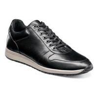 Men's Stacy Adams Axel Sneaker Black Leather