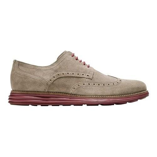 Men's Cole Haan Original Grand Shortwing Wingtip Derby Sea Otter/Sun Dried  Tomato Leather - Free Shipping Today - Overstock.com - 24971319