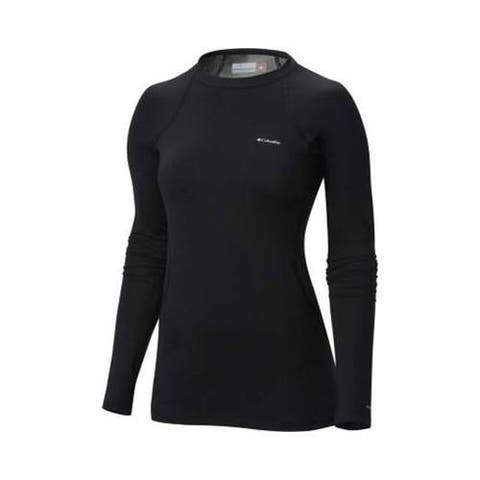 Women's Columbia Midweight Stretch Baselayer Long Sleeve Top Black