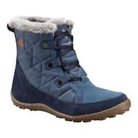 Women's Columbia Minx Shorty Alta Omni-HEAT Winter Ankle Boot Zinc/Desert Sun