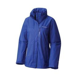 Women's Columbia Pouration Jacket Clematis Blue
