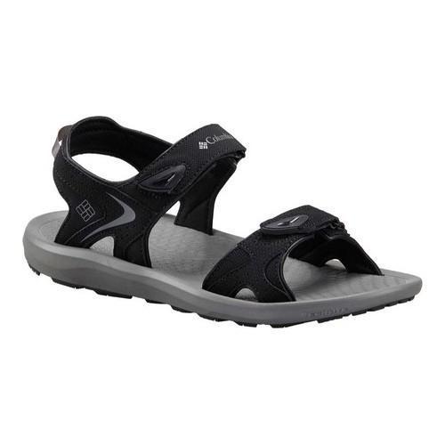 Men's Columbia Techsun Adjustable Strap Sandal Black/Titanium MHW