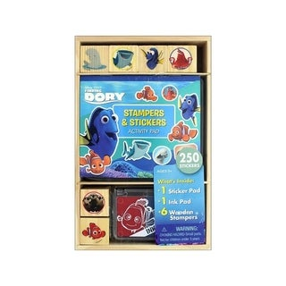 Bendon Wood Stamp Activity Pad Finding Dory
