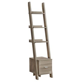 "Bookcase - 69""H - Ladder W/ Storage Drawer"