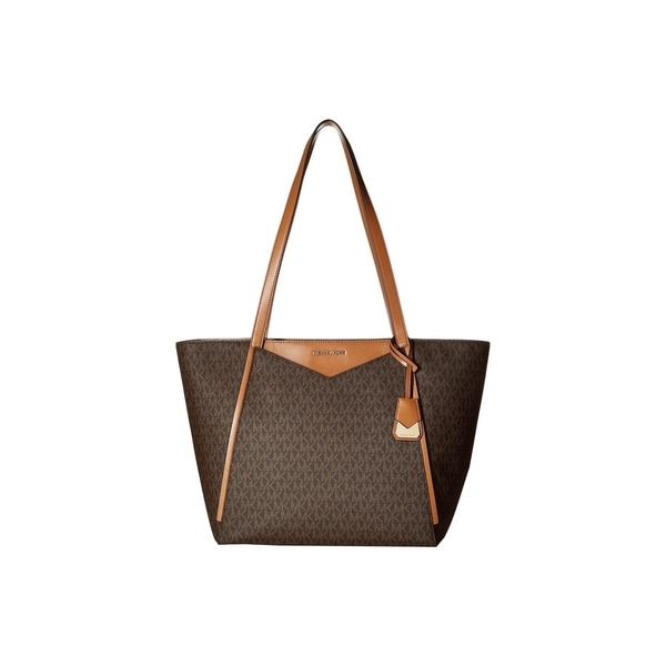 1336bcd0f84cda Shop MICHAEL Michael Kors Signature Whitney Large Tote - On Sale ...