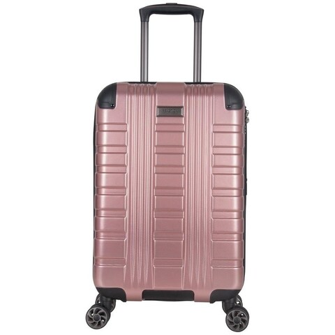 Kenneth Cole Reaction Scotts Corner Hardside PET Expandable 8-Wheel Spinner Carry On Luggage With TSA Lock