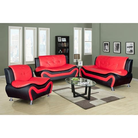 Buy Red Living Room Furniture Sets Online at Overstock | Our ...