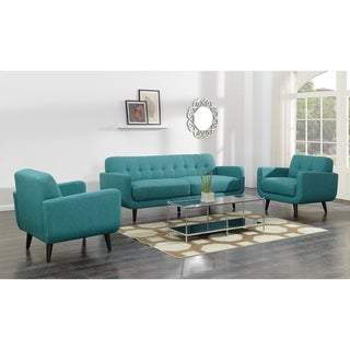 Picket House Furnishings Hailey Sofa & Chair Set in Teal