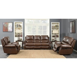 Picket House Furnishings Williams 3PC Sofa Set Saddled Brown