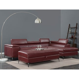 Picket House Furnishings Worth Sectional Set (Option: Red)
