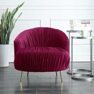 Picket House Furnishings Penelope Ruched Accent Chair