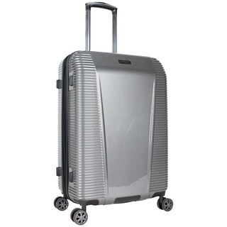 Kenneth Cole New York 24in Lightweight Hardside Expandable 8-Wheel Spinner Checked Luggage With TSA Lock