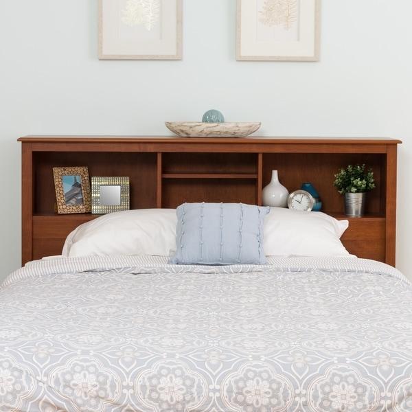 chelsea cherry fullqueen bookcase headboard
