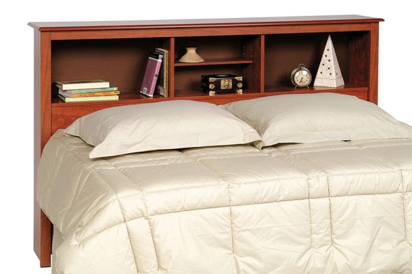 Chelsea Cherry Full/Queen Bookcase Headboard
