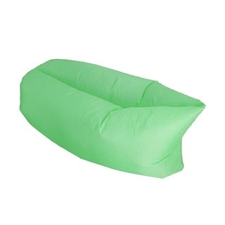 "ALEKO Inflatable Air Lounger Pool Float and Carrying Bag 75""x30"" Green"