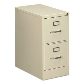 Alera Two-Drawer Economy Vertical File Cabinet, Ltr, 15w x 25d x 29h