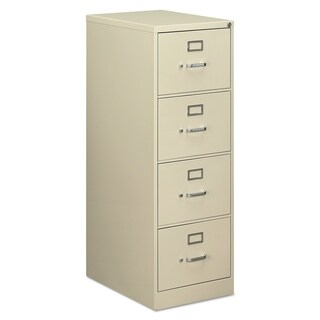 Alera Four-Drawer Economy Vertical File Cabinet, Lgl, 18.25wx25dx52h