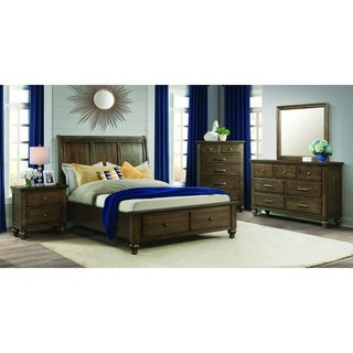 Picket House Furnishings Channing Queen 2-Drawer Platform Storage 6PC Bedroom Set