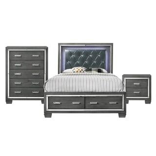 Picket House Furnishings Kenzie Queen Storage 3PC Bedroom Set