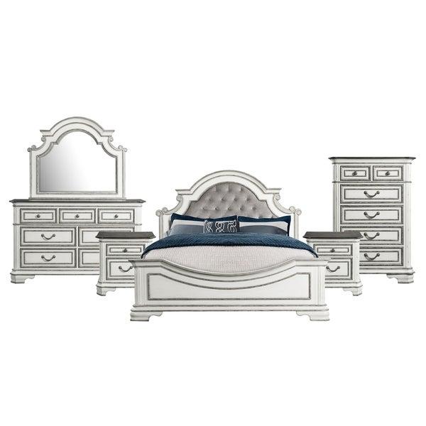 Picket House Furnishings Caroline Queen Panel 6PC Bedroom Set
