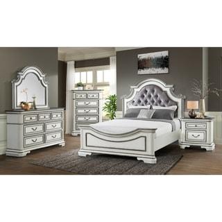 Picket House Furnishings Caroline Queen Panel 4PC Bedroom Set