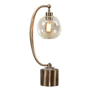 Uttermost Gacinia Plated Antique Brass 1-light Table Lamp