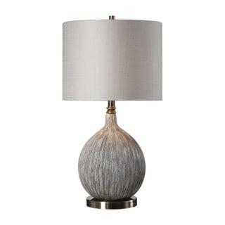 Shop Uttermost Lipioni 1 Light Rustic Black Table Lamp