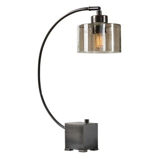 Uttermost Cervino Oil Rubbed Bronze 1-light Table Lamp