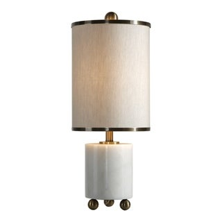 Link to Uttermost Meelagh White 1-light Table Lamp Similar Items in Table Lamps