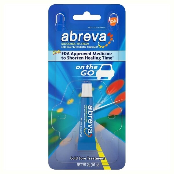 shop abreva on the go 0 07 ounce cold sore treatment free shipping