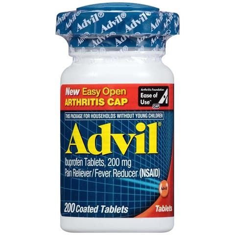 Advil Pain Reliever Fever Reducer (200 Coated Tablets)