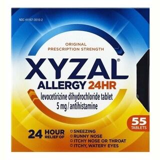 XYZAL Allergy 24HR 55 Tablets