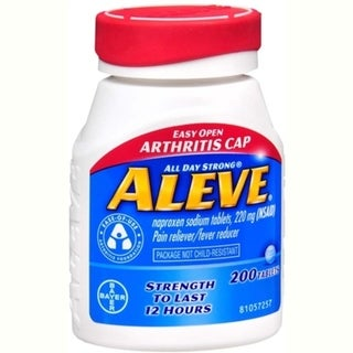 Aleve Pain Reliever Fever Reducer (200 Tablets)