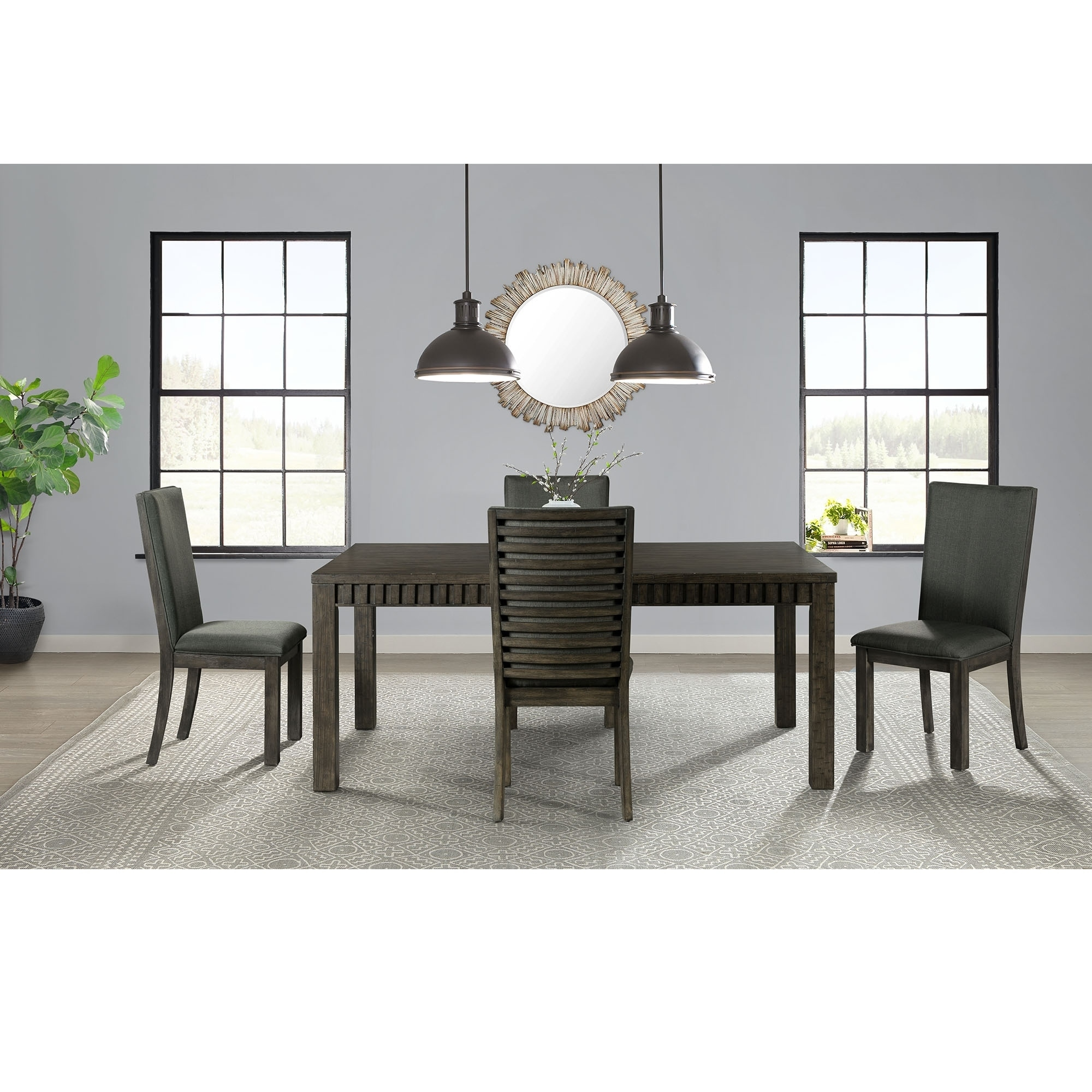 5pc Dining Set: Picket House Furnishings Montego 5PC Dining Set-Table
