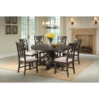 The Gray Barn Fron Holding Round 7-piece Dining Set