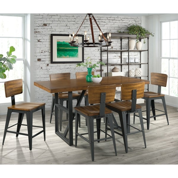 Shop Picket House Furnishings Beckett 7pc Counter Height
