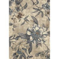 Concord Global Lumina Botanic Ivory Area Rug - 5' x 7'